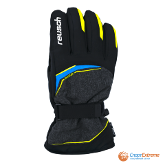 Перчатки горнолыжные REUSCH 2020-21 Primus R-Tex® XT Black Melange/Safety Yellow/Brilli 11""