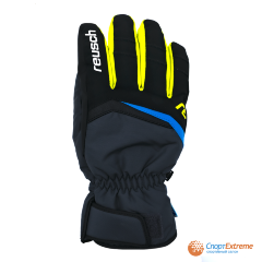 Перчатки горнолыжные REUSCH 2020-21 Balin R-Tex® XT Dark Granite/Safety Yellow 8""